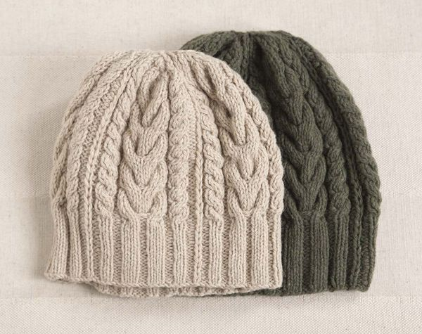 bonnet torsade femme tricot modele