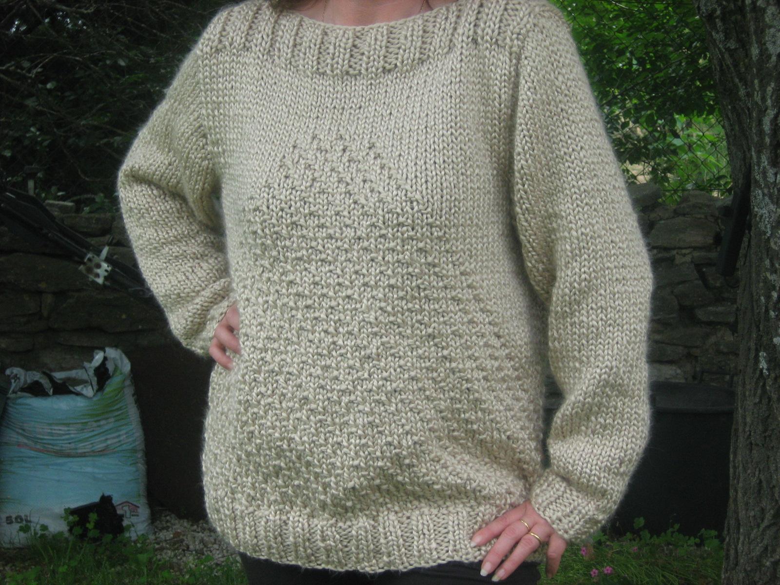 Modele tricot aiguille n 8