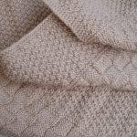 Modele tricot layette gratuit couverture bébé
