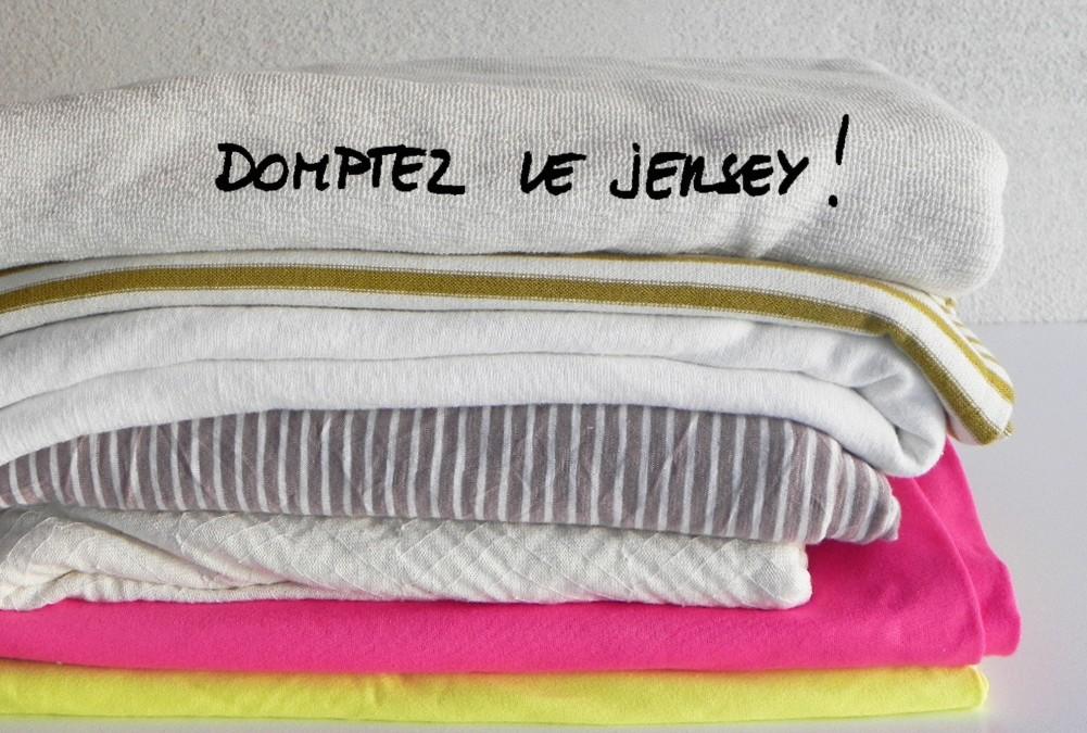 Assemblage tissu tricot