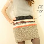 Jupe tricoter en rond