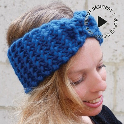 Kit Tricot Headband Tout Pour Le Bébé