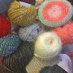 Aiguille tricot paillette