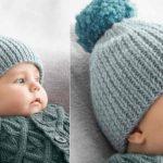 Bonnet bébé tricot tuto gratuit