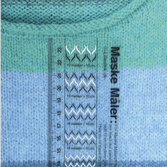 Jauge tricot anglais