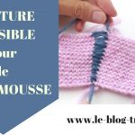 Assemblage tricot mousse