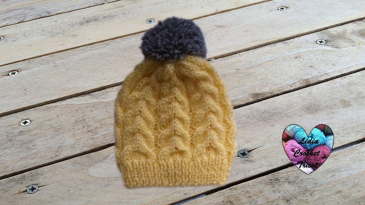 Tricoter bonnet bébé 3 ans