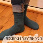 Apprendre tricoter des chaussettes