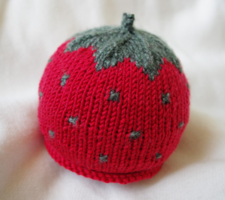 Bonnet bébé original tricot
