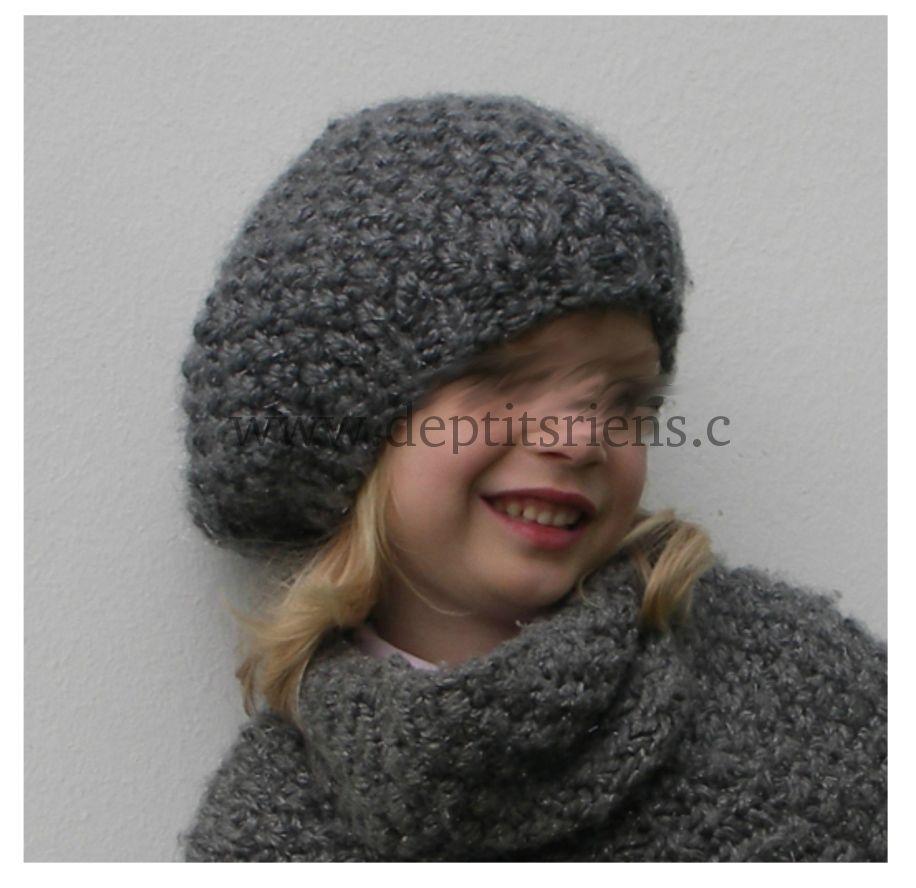 Tricot bonnet femme gratuit