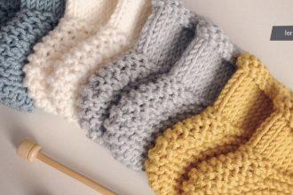 Modele tricot chausson bebe gratuit debutant