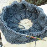 Patron bonnet tricot aiguille circulaire
