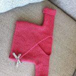 Modele tricot brassiere cache coeur bebe