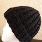 Tricot bonnet femme aiguille 9