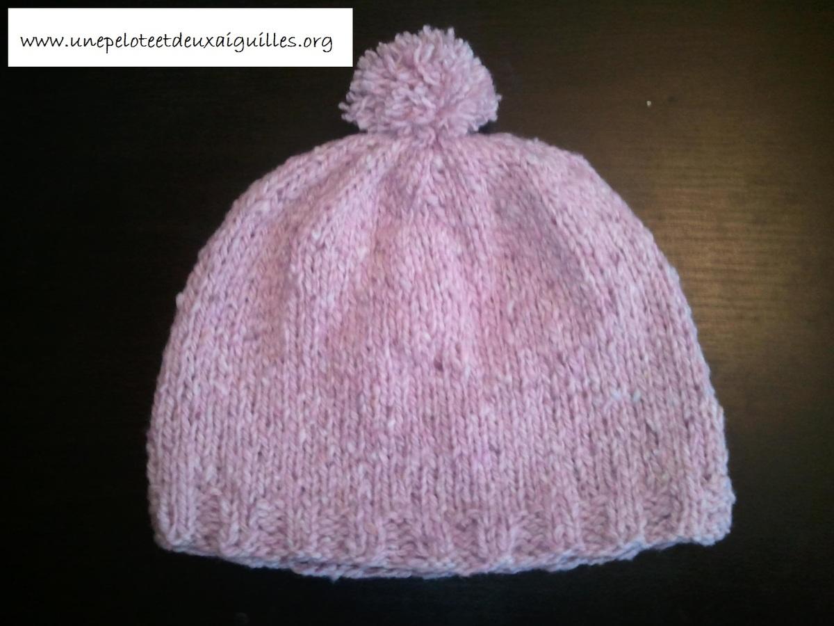 Explication tricot bonnet bébé gratuit