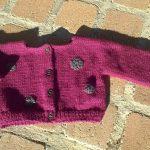 Gilet tricot bébé facile tuto