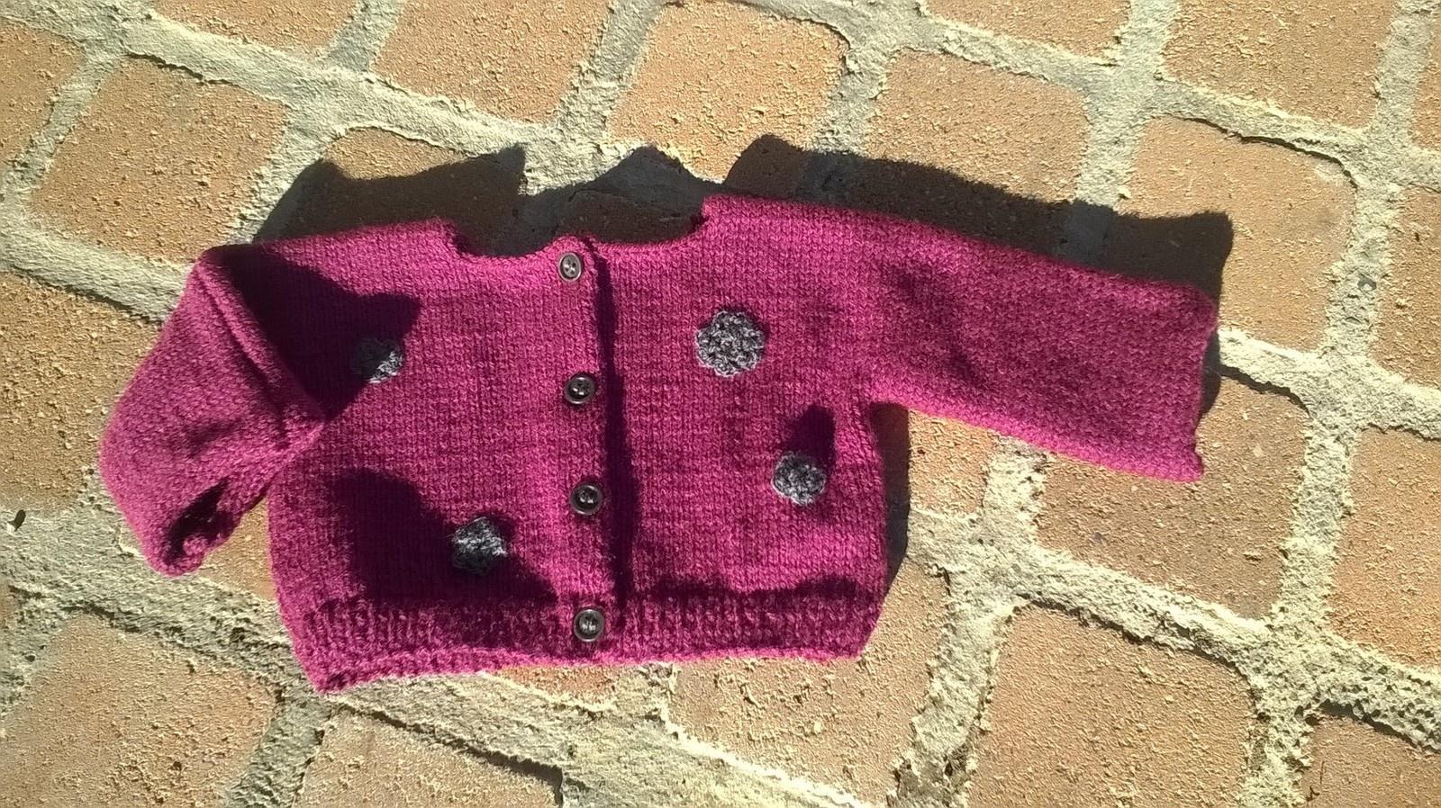 Explication tricot gilet bébé gratuit