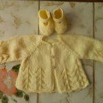 Explication tricot bébé gratuit