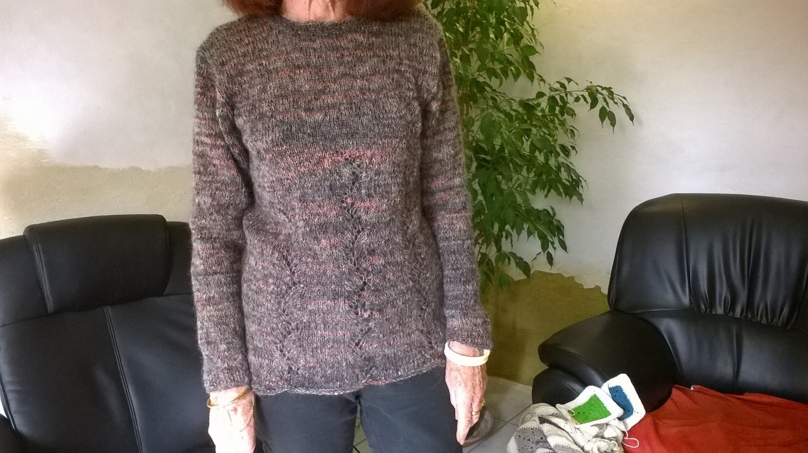 Tricot pull aiguille 6