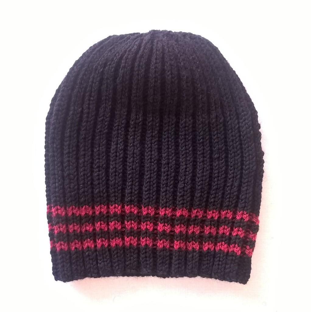 Tricot bonnet femme aiguille 4