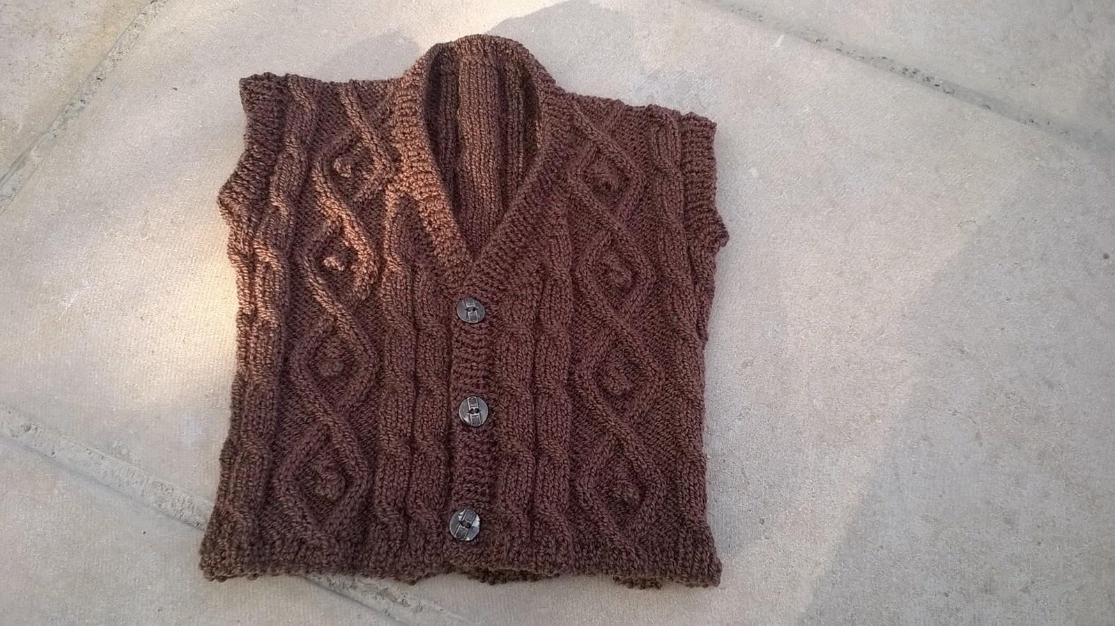 Modele tricot gilet bebe garcon