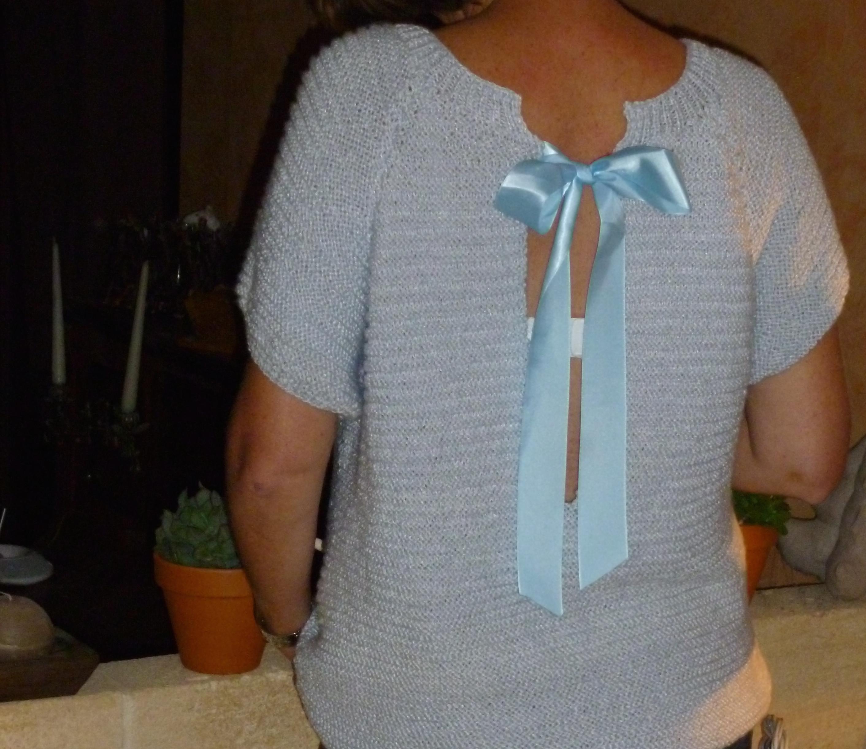 Modele tricot femme aiguille 3
