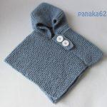 Tuto poncho tricot bébé gratuit