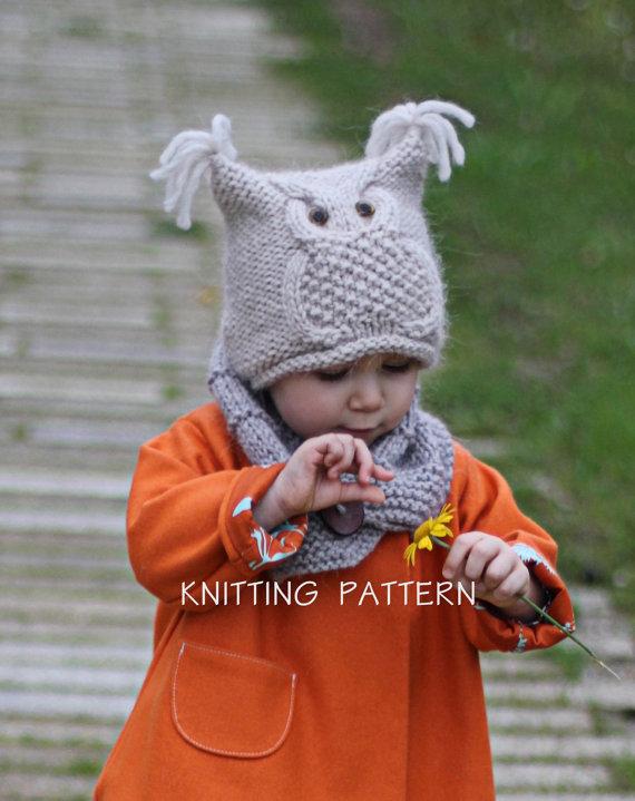 Modèle tricot bonnet animaux