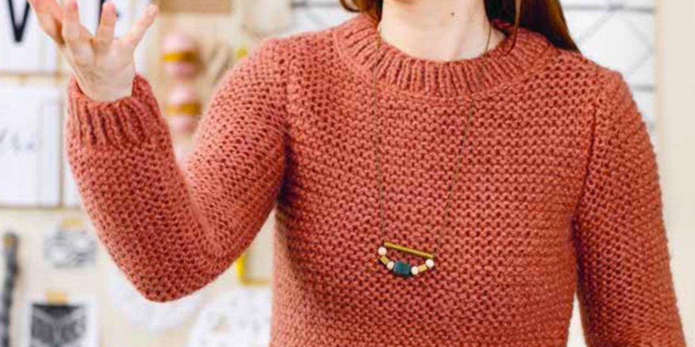 Modele tricot aiguille n 7