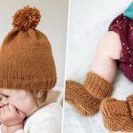 Tricot bonnet bébé facile tuto