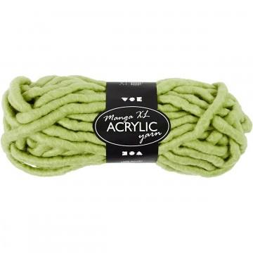 Tricoter avec les doigts grosse laine