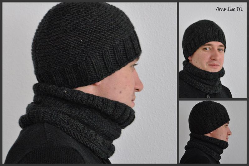 Tricot bonnet pour homme gratuit