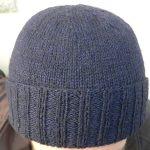 Tricot bonnet homme gratuit
