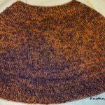 Tricoter un poncho en rond