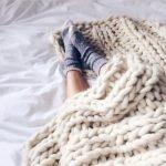 Tricoter avec ses bras tuto