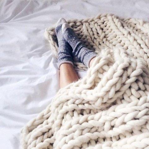 Comment faire du tricot avec les bras