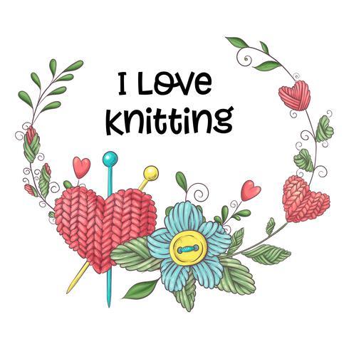 Tricoter aiguille en anglais