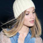 Tricoter bonnet femme en laine