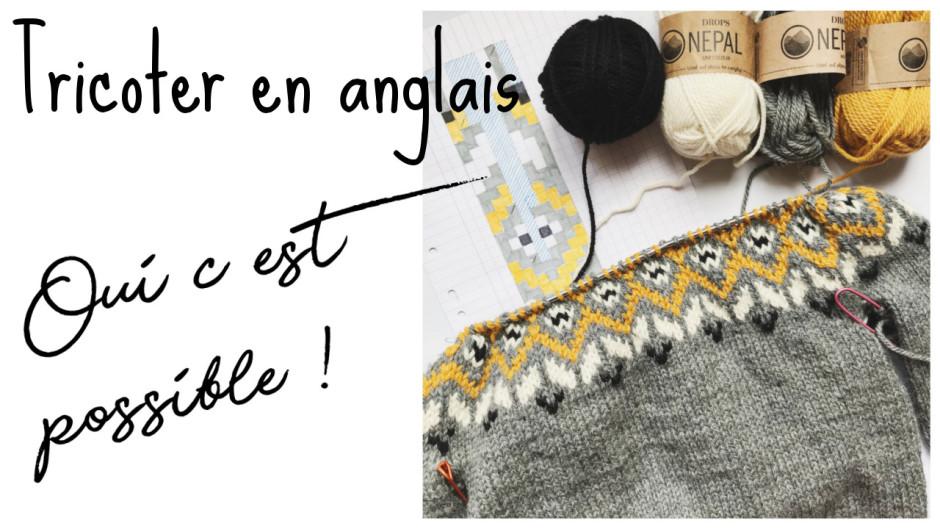 Torsades tricot en anglais