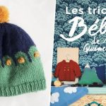 Tuto bonnet original bébé tricot