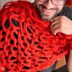 Tricoter avec les doigts snood