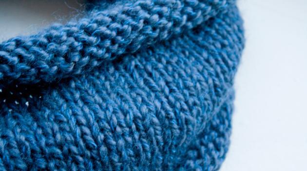 Modèle tricot snood aiguille 5