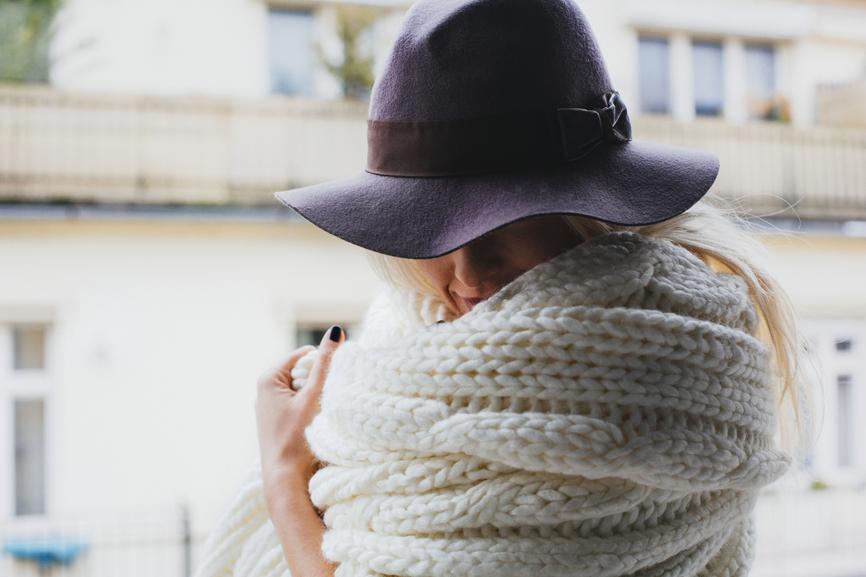 Diy tricot avec les bras