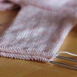 Tricot tricoter en rond