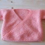 Comment tricoter brassière laine bébé
