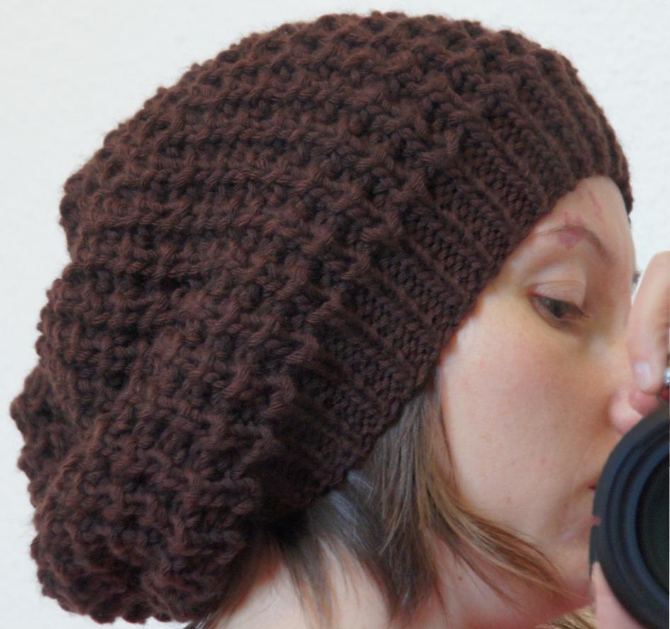 Explication tricot bonnet femme gratuit
