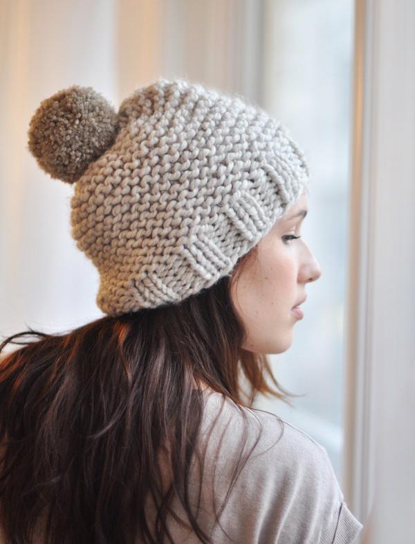 Tricot bonnet femme aiguille 8