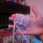 Tricot avec les doigts facile