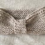 Tricot aiguille point mousse