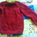Aiguille tricoter un pull